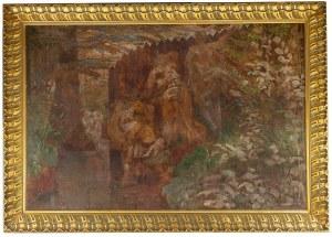 Jacek Malczewski (1854 Radom - 1929 Kraków), Zuzanna i starcy, 1913 r.