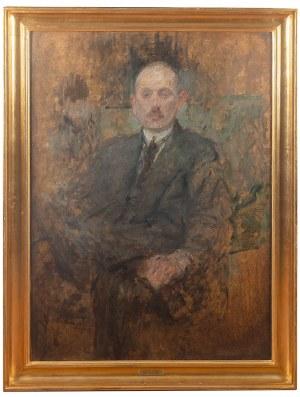 Olga Boznańska (1865 Kraków - 1940 Paryż), Portret Pana Beyleya, przed 1921