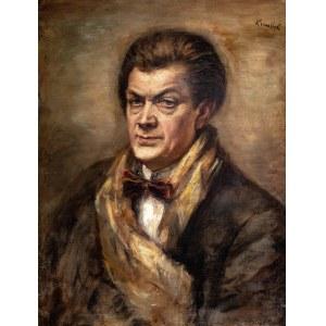 Roman Kramsztyk (1885 Warszawa-1942 tamże), Portret Othona Friesza