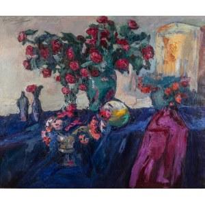 Włodzimierz Terlikowski (1873 wieś pod Warszawą - 1951 Paryż), Martwa natura z różami