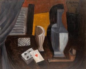 Alicja Halicka ( Kraków 1894 - Paryż 1975), Martwa natura z kartami