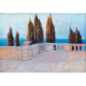 Bronisława Rychter-Janowska (1868 Kraków - 1953 tamże), Taras na Capri