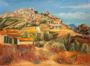 Henryk Hayden (1883 Warszawa - 1970 Paryż), Wzgórze Six-Fours w pobliżu Sanary, ok. 1925 r.