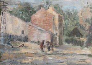 Efraim i Menasze Seidenbeitel (1903-1945), Przedmieścia (Rogatka) Krakowa, 1934 r.