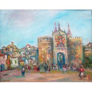 Jakub Zucker (1900 Radom - 1981 Nowy Jork), Toledo – Puerta Visagra