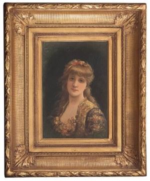 Emile Eisman-Semenowsky (1857 Polska – 1911 Paryż ?), Piękna blondynka