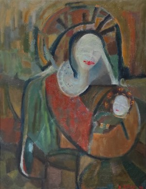 Rafał Knop, Matka Boska Pomadkowa, 1990