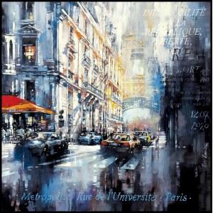 Piotr Zawadzki, Metropolis. Rue de L'Universite, Paris 1789, 2020