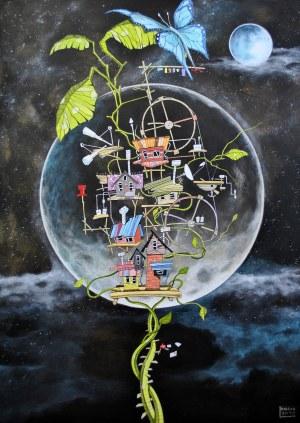 Dariusz Franciszek Różyc, Sentinel z cyklu Nie tak odległe…, 2020