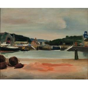 Henryk Hayden (1883-1970), W porcie