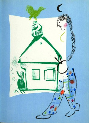 Marc Chagall (1887 - 1985), La maison dans mon village