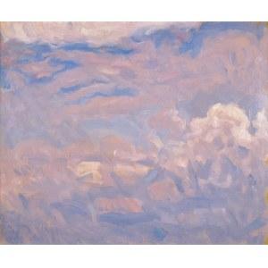 Stanisław Czajkowski (1878-1954), Studium nieba (Holandia)