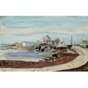 Henryk Hayden (1883-1970), Zatoka, 1957
