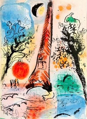 Marc Chagall (1887 - 1985), Vision de Paris