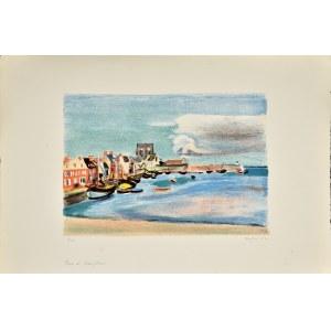 Henryk Hayden (1883-1970), Port de Barfleur, 1948