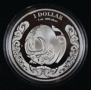 1 dolar, Rok Wołu, Australia, 2009