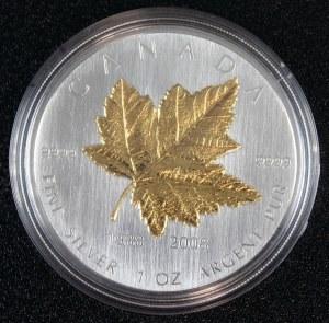 """5 dolarów, 20 lecie Emisji """"Liścia Klonowego"""", Kanada, 2008"""