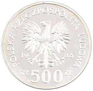 500 zł, Meksyk '86, 1986