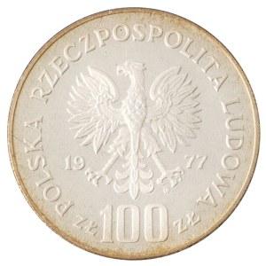 100 zł, Ochrona Środowiska - Żubr, 1977