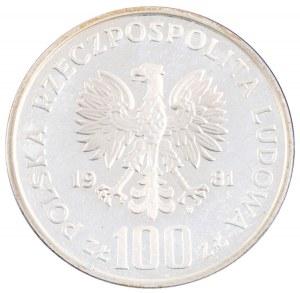 100 zł, Ochrona Środowiska - Tarpan, 1981