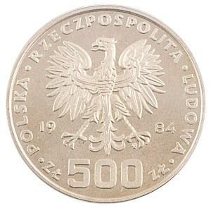 500 zł, Ochrona Środowiska - Łabędź, 1984