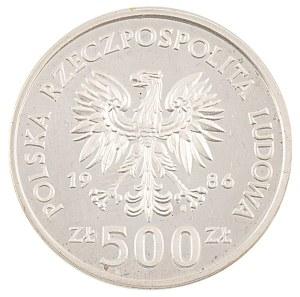 500 zł, Ochrona Środowiska - Sowa z Młodymi, 1986