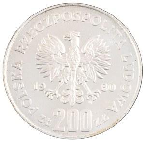 200 zł, Kazimierz Odnowiciel, 1980