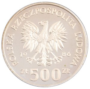 500 zł, Władysław Łokietek, 1986