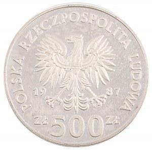 500 zł, Kazimierz Wielki, 1987
