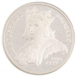 5000 zł, Władysław II Jagiełło, 1989