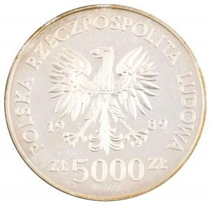 5000 zł, Westerplatte, 1989