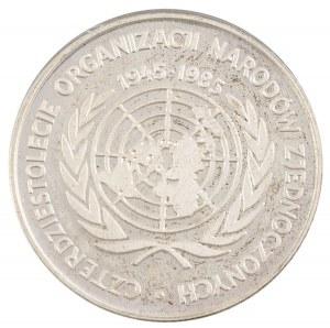 500 zł, 40 Lat ONZ, 1985