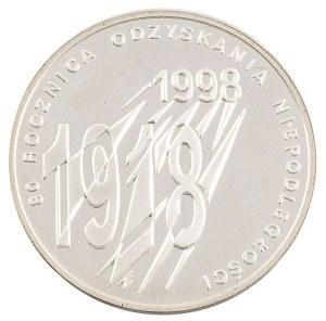 10 zł, 80. Rocznica Odzyskania Niepodległości, 1998