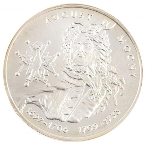 10 zł, August II Mocny, 2002