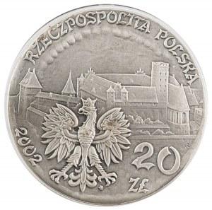 20 zł, Zamek w Malborku, 2002
