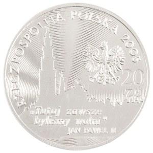 20 zł, 350-lecie Obrony Jasnej Góry, 2005