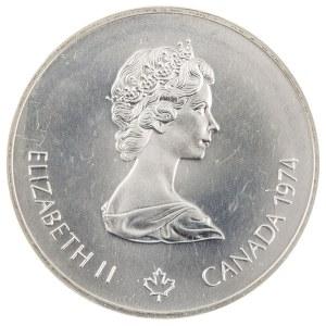 5 dolarów, XXI Olimpiada - Ogień Olimpijski, Kanada, 1974