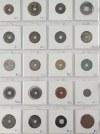 320 monet: Chiny, Wietnam, Japonia, Indochiny Francuskie, Hong Kong, Kambodża ok. 350p. n. e. - 1958