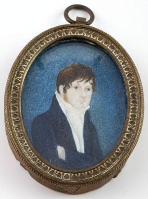 PORTRET MŁODEGO MĘŻCZYZNY, ok. 1820