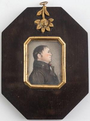 PARA MINIATUR: JÓZEF I ANNA GABRIEL, pocz. XIX w.