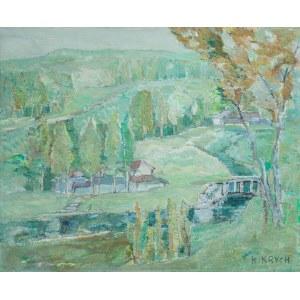 Henryk KRYCH (1905-1980), Pejzaż wiosenny
