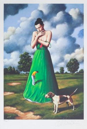 Rafał OLBIŃSKI (ur. 1943), Kobieta z psem