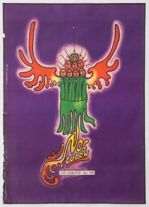 Franciszek STAROWIEYSKI (1930-2009), Projekt plakatu oraz plakat do spektaklu