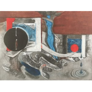 Konrad SRZEDNICKI (1894-1993), Trzy krople, 1972