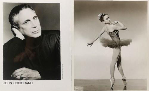 Christian STEINER, XX w. / Maurice ZELDMAN (1900-1993) i Seymour ZELDMAN (1902-1995), Para fotografii - John Corigliano i Elizabeth Carroll