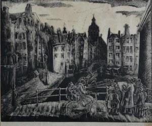 Stefan MROŻEWSKI (1894-1975), Kolk w Amsterdamie, 1933