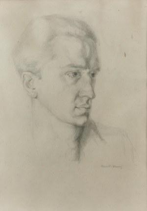 Edward KARNIEJ (1890-1942), Portret młodego mężczyzny