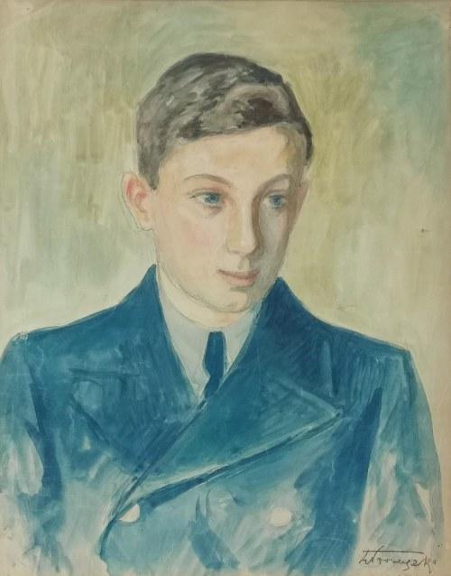 Zbigniew PRONASZKO (1885-1958), Portret studenta