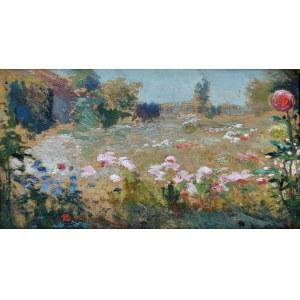 Jan STANISŁAWSKI (1860-1907), Kwiatowa łąka, ok. 1905