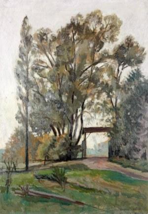 Mieczysław FILIPKIEWICZ (1891-1951), Stara brama, przed 1923